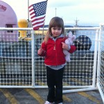 Lily Waiting for Daddy's Ship to Dock
