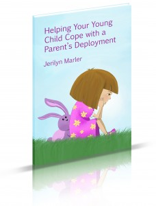 """Helping Your Young Child Cope with a Parent's Deployment"" cover"