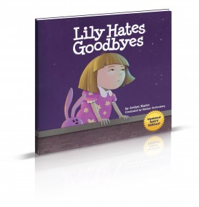 """Lily Hates Goodbyes (Navy Version)"" cover"